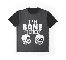 Undertale Sans - Bone Tired Graphic T-Shirt