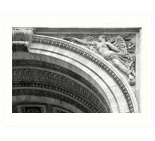 Classical arches Art Print