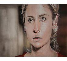 Airbrush Portrait - Sarah Michelle Gellar Photographic Print