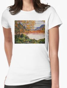 Enchanting Autumn Womens Fitted T-Shirt