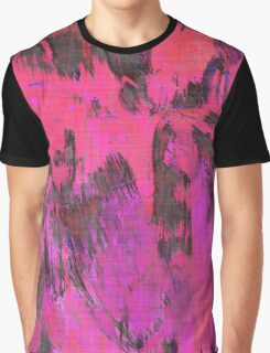 Paint, Pink (Texture, Background) Graphic T-Shirt