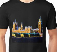 Houses of Parliament with Big Ben, London Unisex T-Shirt