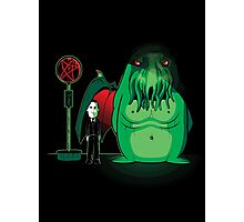 Cthulhu Waits Photographic Print
