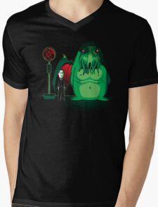 Cthulhu Waits Mens V-Neck T-Shirt