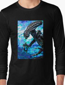 Alien from sci-fi movie Long Sleeve T-Shirt