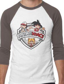 Animeniacs Men's Baseball ¾ T-Shirt