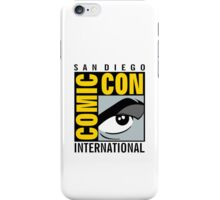 Comic Con No Border iPhone Case/Skin