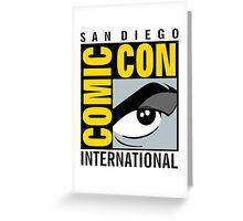 Comic Con No Border Greeting Card