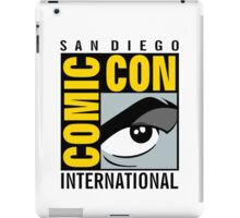 Comic Con No Border iPad Case/Skin