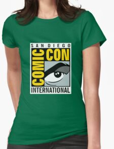 Comic Con No Border Womens Fitted T-Shirt
