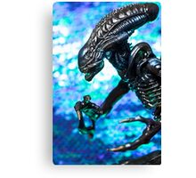 Alien from sci-fi movie Canvas Print