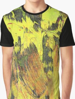 Paint, Yellow (Texture, Background) Graphic T-Shirt