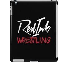 Red Ink Wrestling Logo iPad Case/Skin