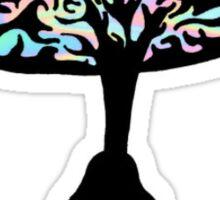 Trippy Mushroom Sticker