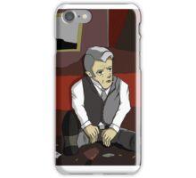 Dark Roger Sterling iPhone Case/Skin
