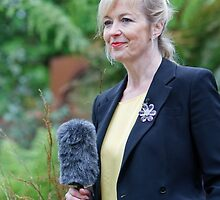 Carol Kirkwood at the RHS Chelsea Flower Show 2013 by Keith Larby