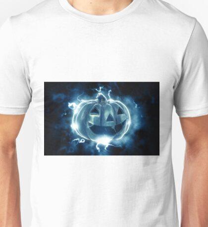 Ethereal Jack-O-Lantern Unisex T-Shirt