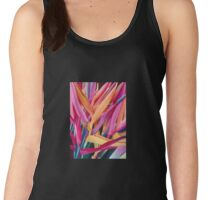 Insanely Lush Pink Tropical Women's Tank Top
