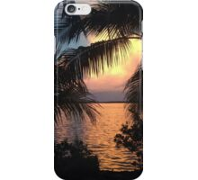 Sunset in the Florida Keys  iPhone Case/Skin