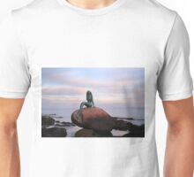 Mermaid of the North at Sunset Unisex T-Shirt