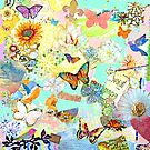 Birds, Butterflies, and Flowers by Laura Bell