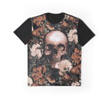 Floral and Skull II Graphic T-Shirt