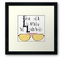Fear and Loathing in Louisiana Framed Print