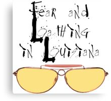 Fear and Loathing in Louisiana Canvas Print