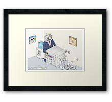 Office Romances...  Framed Print