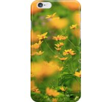 Yellow Blur iPhone Case/Skin