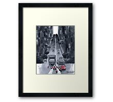 Cakewalk - Traffic Caused By A Cake And Her Cups Framed Print