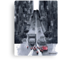 Cakewalk - Traffic Caused By A Cake And Her Cups Canvas Print