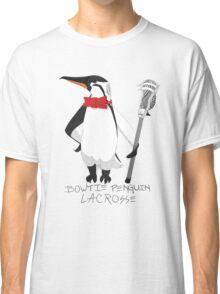 Bowtie Penguin Lacrosse Classic T-Shirt