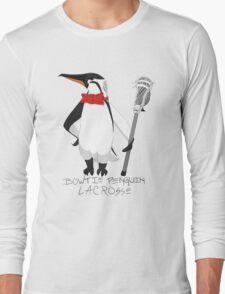 Bowtie Penguin Lacrosse Long Sleeve T-Shirt
