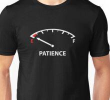 Running On Empty : Patience Unisex T-Shirt