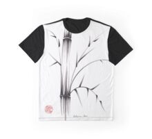 'Simplicity' paper & brush ink pen hand drawing Graphic T-Shirt