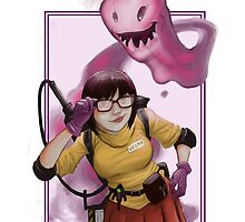 Ghostbuster Velma by Jerosmith0819