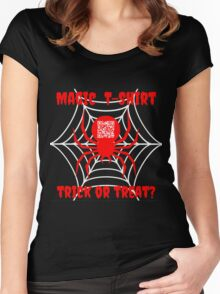 The Magic T-Shirt - Halloween Women's Fitted Scoop T-Shirt