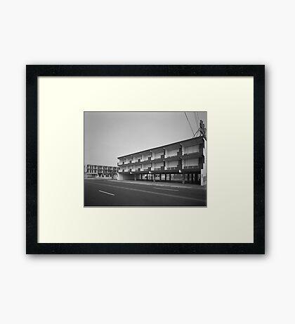 El Ray Motel - Wildwood, New Jersey Framed Print
