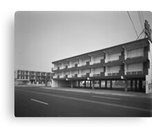 El Ray Motel - Wildwood, New Jersey Canvas Print