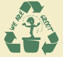 We Are Groot (so please recycle!) T-Shirt