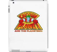 CAPTAIN PLANET AND THE PLANETEERS RETRO CLASSIC CARTOON  iPad Case/Skin