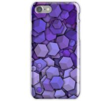 Graphic Boxes, Violet (Wallpaper, Background) iPhone Case/Skin