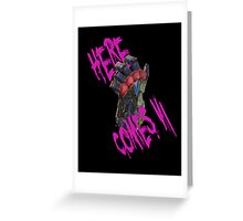 Here Comes Vi Greeting Card