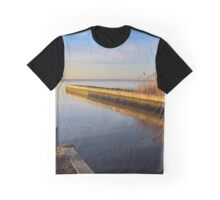 View On Indian Creek | Sayville, New York Graphic T-Shirt