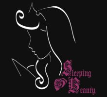 Sleeping Beauty´s outline Kids Clothes