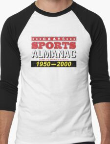 Biff's Almanac - Back to the Future Men's Baseball ¾ T-Shirt