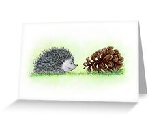 Spiky Duo Greeting Card