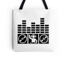 Equalizer DJ Vinyls Tote Bag
