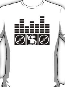Equalizer DJ Vinyls T-Shirt